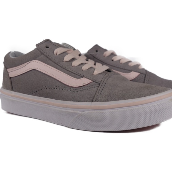 Vans Other - VANS Old Skool Suede (Grey / Heavenly Pink)